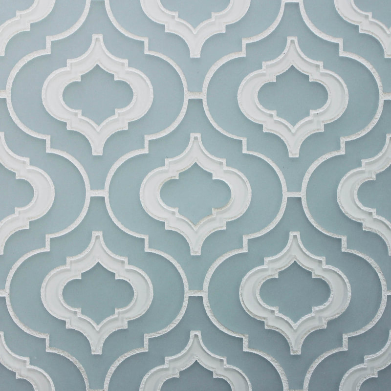 Luxurious, elegant, Victorian, Arabesque, Moorish. Choose any one of our three  Moroccan patterns to bring a sense of historic luxe to a space. Available in one colour, or a custom inlaid blend.