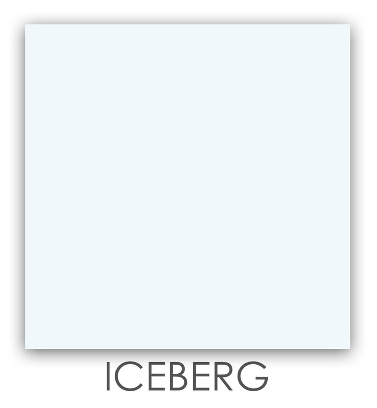 Iceberg Art Glass Color, Bright White, Accent Color, Art Glass Tiles, Art Glass Mosaic Collection, Tiles
